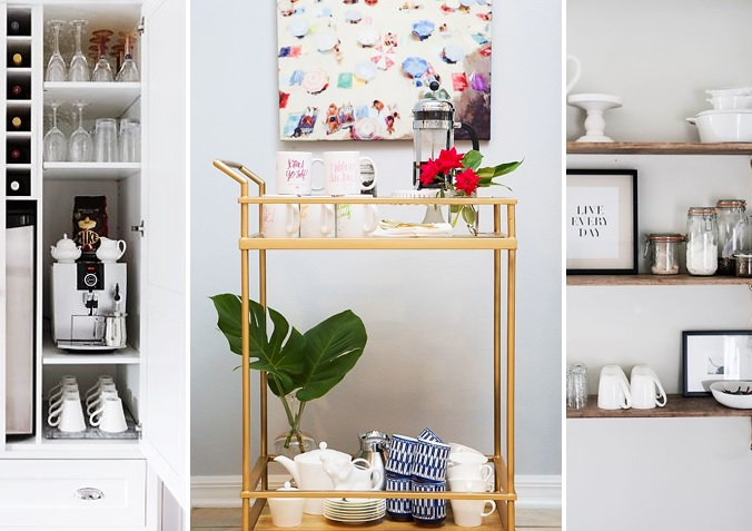 7 WAYS TO HAVE A STYLIST HOME BEVERAGE CENTER KATE DWELL IN STYLE