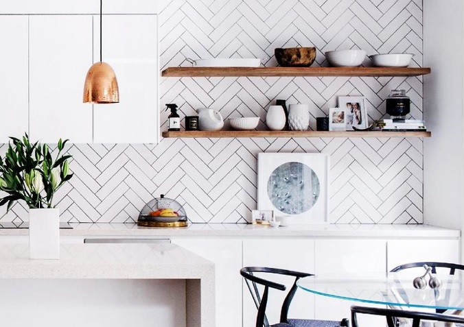 HOW TO PERSONALIZE A WHITE KITCHEN KATE DWELL IN STYLE